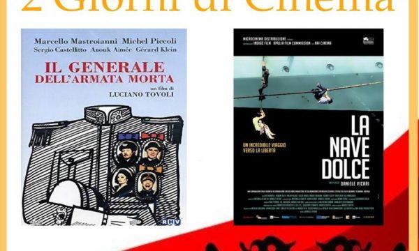 """""""2 giorni di cinema"""": due proiezioni in arrivo con l'associazione Iskander"""